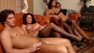Charming retro pornstars appear approximately arousing porn clip