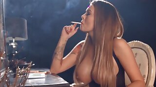 Charley Atwell Smoking & Looking Hot As Fuck